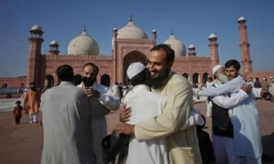 ملک بھر میں عیدالاضحی مذہبی عقیدت و احترام سے منائی گئی