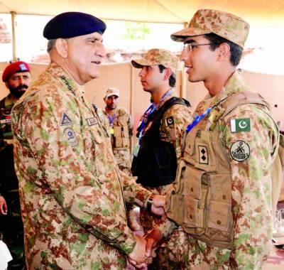 ہماری زندگیاں پاکستان کےلئے ہیں، کوئی ملک سے بالا نہیں : آرمی چیف