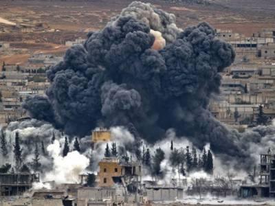 فضائی حملے میں شدت پسند تنظیم داعش کے چار کمانڈروں سمیت متعدد شدت پسند مارے گئے