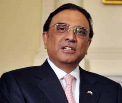 سندھ میں نیب قوانین کی منسوخی کا دوبارہ جائزہ لیا جائے: زرداری
