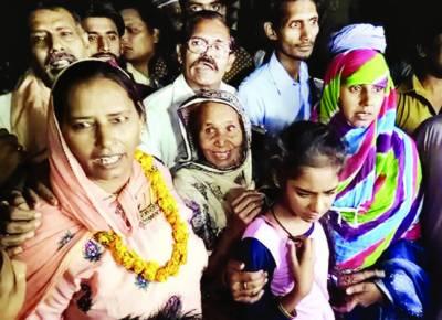 گیارہ سال سے بھارت میں قید 3پاکستانی خواتین رہا کردی گئیں