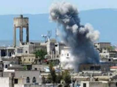 شامی فوج کی سکول پر گولہ باری،4بچے جاں بحق