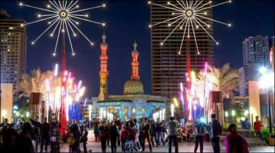 برطانیہ میں سالانہ لائٹ فیسٹیول کا انعقاد