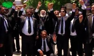 صدر بار کے عہدے کااستعمال، شیر زمان کی طلبی، پیش نہیں ہونے دینگے: وکلاء