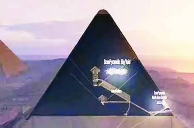اہرام مصر میں ایک اور خفیہ مقام کی دریافت