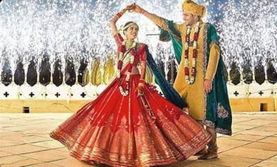 دلہن کا اپنی شادی میں فلمی طرز کا رقص