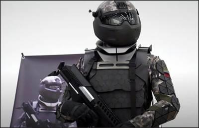 روس میں بم پروف یونیفارم تیار
