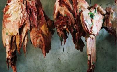 23 من ناقص گوشت، سری پائے لاہور سمگل کرنے کی کوشش ناکام
