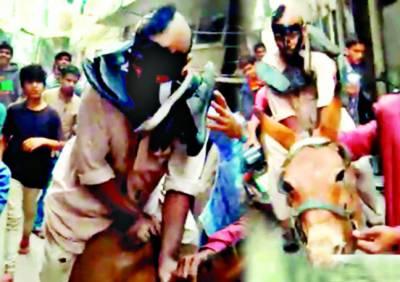 لاہور: طلاق دینے سے انکار پر سسرالیوں کا نوجوان پر تشدد، آدھا سر، مونچھیں اور بھنوئیں مونڈ دیں