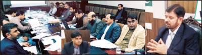 غیر قانونی ہاؤسنگ کالونیوں میں رجسٹری اور انتقالات سے گریز کیاجائے: علی اکبر بھٹی