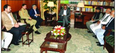 کراچی میں امن کے بعد ترقیاتی منصوبے وقت کی ضرورت ہیں : گورنر سندھ
