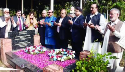 محمود علی متحدہ پاکستان کے بہت بڑے داعی تھے: مقررین