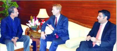 میئر کراچی سے ڈنمارک کے سفیری ملاقات دو تعلقانہ باہمی امور پر تبادلہ خیال