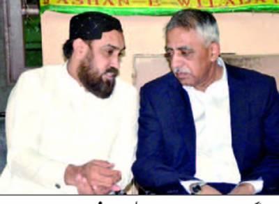 گورنر سندھ محمد زبیر کی پیر اظہر علی ہمدانی سے تعزیت