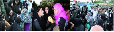 احتجاجی اساتذہ پر پولیس کا لاٹھی چارج 2 زخمی متعدد گرفتار