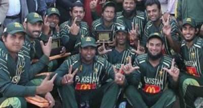 ڈیف ٹی20 کرکٹ:پاکستان نے سری لنکا کو 15 رنز سے شکست دیدی