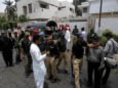 سرچ آپریشن : 13مشکوک افراد گرفتار