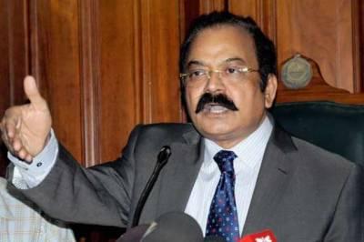 سیالوی نے بیٹے کو پارٹی ٹکٹ نہ ملنے پر مخالفت شروع کر دی;وزیر قانون پنجاب رانا ثناءاللہ