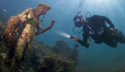 روم : 1700سال پرانا غرق شہر دریافت حیران کن انکشافات سامنے آگئے