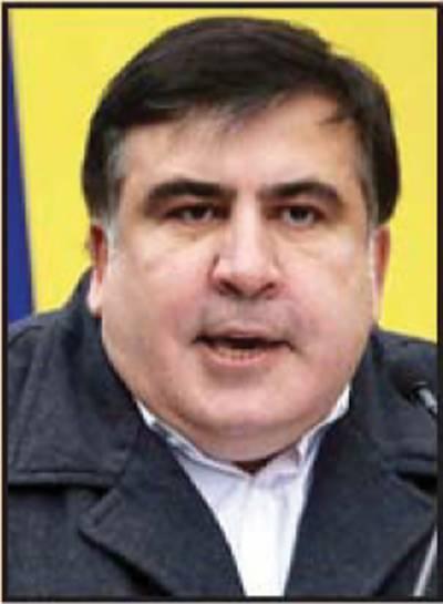 یوکرائن میں گرفتار جارجیا کے سابق صدر میخائیل ساکاشویلی کو رہا کر دیا گیا