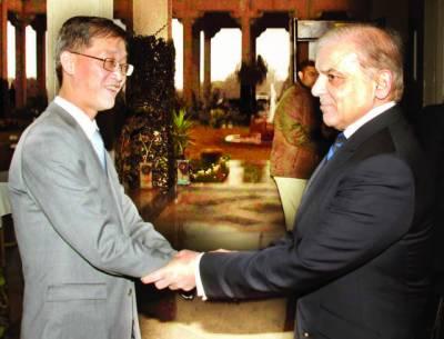 اورنج ٹرین پر24 گھنٹے کام کیا جائے' شہباز شریف: ہر ممکن تعاون کریں گے: چینی سفیر