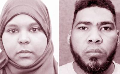 لندن: کرسمس پر دہشتگردی کے منصوبے کا الزام ،مسلمان جوڑا مجرم قرار' اگلے ماہ سزا ہو گی