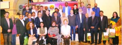 دنیا بھرکے نامور صحافیوں کی آمد باعث فحر ہے' ڈاکٹر محمد علی شیخ