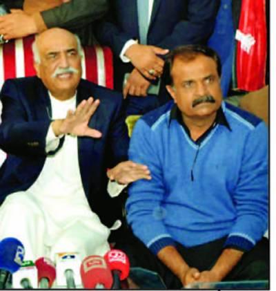 نلیگ کا بلوچستان میں کوئی مقام نہیں' الیکشن بروقت ہونگے: خورشید شاہ