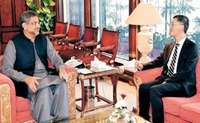 وزیراعظم سے چین کے سفیر اور نائیجیریا کے ہائی کمشنر کی ملاقاتیں