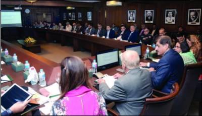 سندھ سے پولیو کے خاتمے کا عزم ، متعلقہ اداروں کوذمہ دارانہ فرائض انجام دینا ہونگے: مراد علی شاہ
