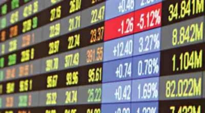 سٹاک مارکیٹ میں مندا 100 انڈیکس 297.78 پوائنٹس کی کمی سے 42814 پر بند