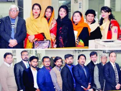 اسلامیہ یونیورسٹی بہاولپور کے طلبہ کا نوائے وقت گروپ دفاتر کا مطالعاتی دورہ