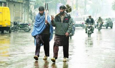 لاہور'فیصل آباد سمیت کئی شہروں میں ہلکی بارش'سردی کی شدت میں اضافہ