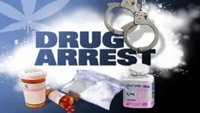 منشیات فروش رنگے ہاتھوں گرفتار ' چرس برآ مد