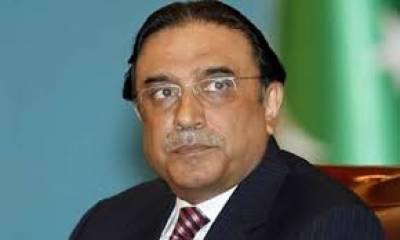 بلوچستان میں جمہوری طریقے سے تبدیلی اچھا قدم تھا' آصف زرداری