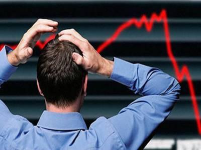 سٹاک مارکیٹ میں مندا' سرمایہ کاری میں 33 ارب روپے کی کمی