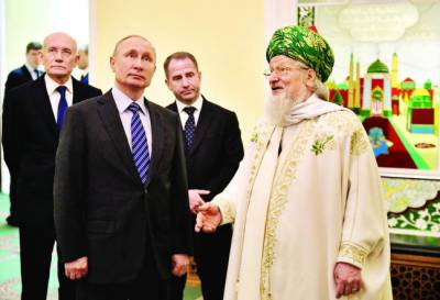 اسلامی تعلیمات کے فروغ میں مدد فراہم کرینگے: روسی صدر