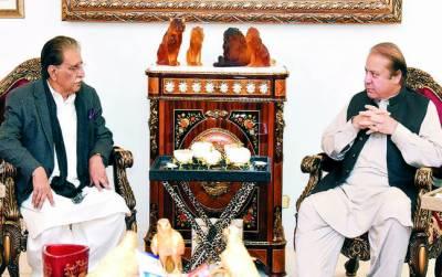 وزیراعظم آزاد کشمیر کی ملاقات: مسئلہ کشمیر پر موقف سے پیچھے ہٹنے کا سوال ہی پیدا نہیں ہوتا : نوازشریف