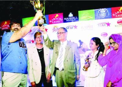 اسٹار مارکیٹنگ چیمپئنز ٹرافی راجپوت واریئرز نے جیت لی
