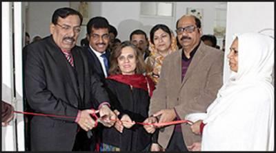 نشتر ہسپتال کے شعبہ امراض نسواں آؤٹ ڈور میں دو جدید کلرڈاپلر الٹرا ساؤنڈ مشینوں کی تنصیب ، وی سی ڈاکٹر ظفر حسین تنویر نے افتتاح کیا