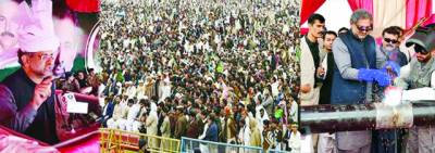 خیبر پی کے کو گیس دی'4 سال میں بجلی کا کوئی منصوبہ نہیں لگا' عمران کے سارے دعوے جھوٹے: شاہد خاقان