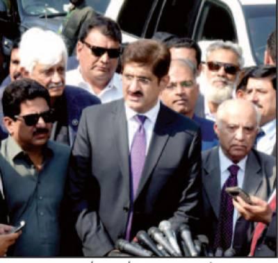 ایم کیو ایم والے جھگڑے چھوڑ کر عوام کی خدمت کریں وزیراعلیٰ سندھ