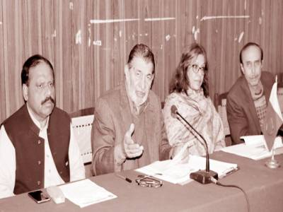 سیاسی جماعتیں منشور میں محنت کشوں کو حقوق کی فراہمی کا اعادہ کریں: خورشید احمد