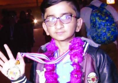 بین الاقوامی ریاضی مقابلے میں پاکستانی طالب علم جعفر رضا نے گولڈمیڈل جیت لیا، وزیراعلیٰ کی مبارکباد