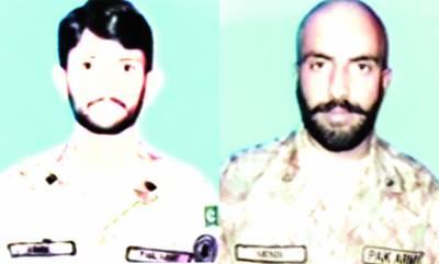 کنٹرول لائن پر بھارت کی بلااشتعال فائرنگ' پاک فوج کے2 جوان شہید