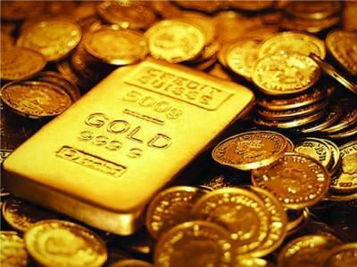 سونے کی فی تولہ قیمت450 روپے گھٹ کر56ہزار650روپے رہ گئی