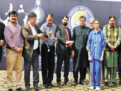 کھیل بچوں کو جسمانی نشوونما کیساتھ برائیوں سے دور رکھتا ہے : شیخ ثروت اکرام