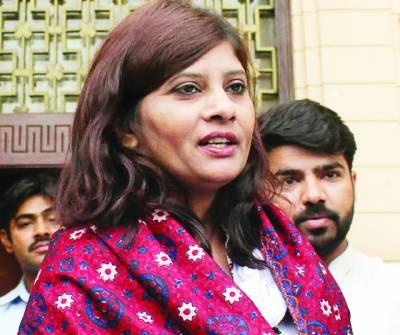 پاکستان میں پہلی دلت سینیٹر منتخب' پیپلزپارٹی کی شکر گزار ہوں: کرشنا کماری