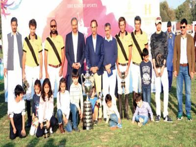 پنجاب پولو کپ' باڑیز نے ماسٹر پینٹس کو ہرا کر جیت لیا
