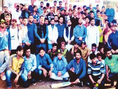 جیوے پاکستان کرکٹ ٹورنامنٹ نوجوانوں کیلئے بہترین پلیٹ فارم ہے: ذکر اللہ مجاہد